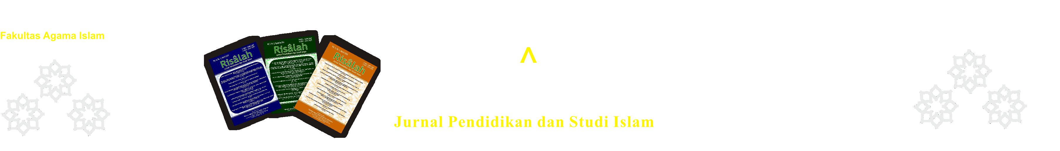 Risalah, Jurnal Pendidikan dan Studi Islam